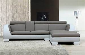 Modern White Grey Shape Sofa Fascinating L Shaped Sofas