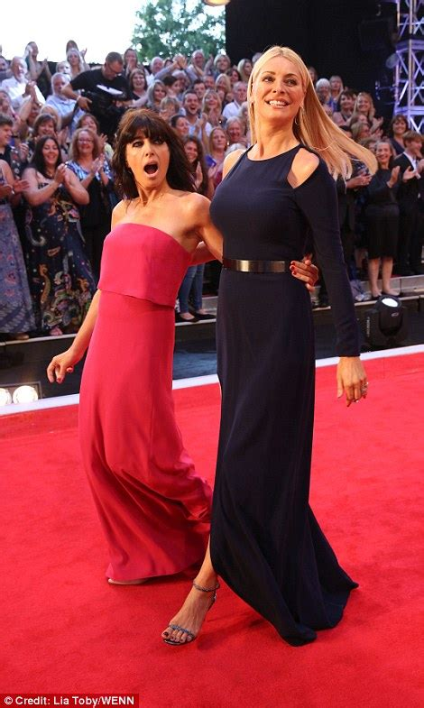 Claudia Winkleman and Tess Daly dazzle at the launch of ...