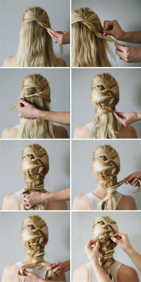 simple step  step hairstyles