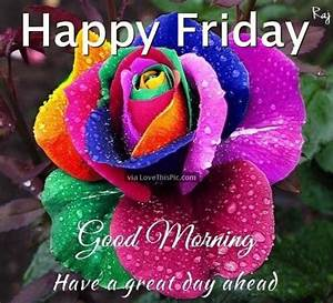 Happy Friday Good Morning Have A Great Day Ahead friday ...
