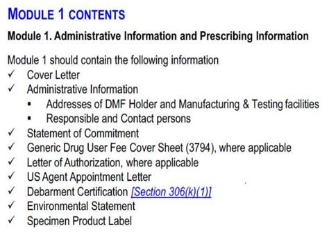 drug master file submissions