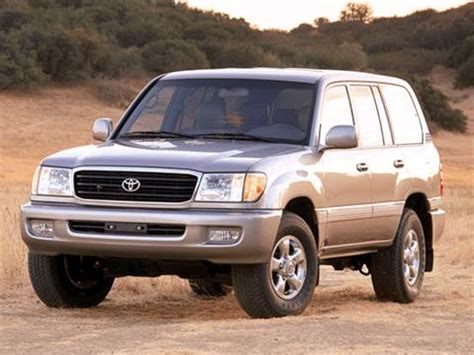 2002 Toyota Land Cruiser by 2002 Toyota Land Cruiser Pricing Ratings Reviews