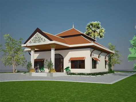 House Style : Khmer House Style-house Design Plans