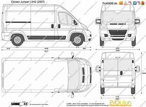 Citroen Jumper L2h2 : the vector drawing citroen jumper l2h2 ~ Gottalentnigeria.com Avis de Voitures