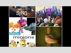 Estrenos de las películas de los sig Años 2017,2018,2019