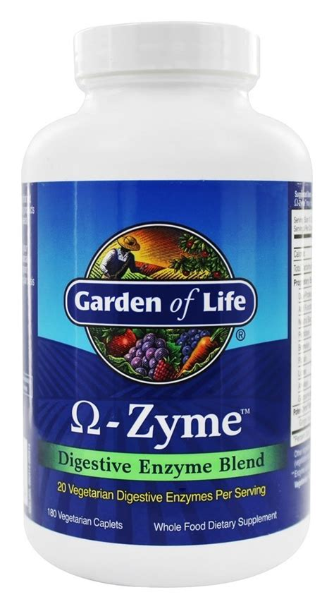 Garden Of Enzymes by Buy Garden Of Omega Zyme Digestive Enzyme Blend