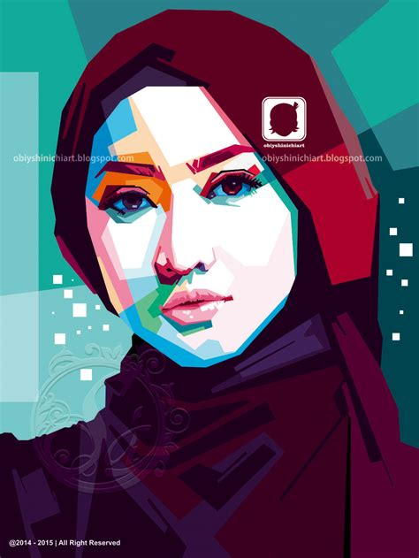 beauty hijab  wpap  obiy shinichi art