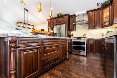 american walnut rta cabinets cabinet city kitchen  bath