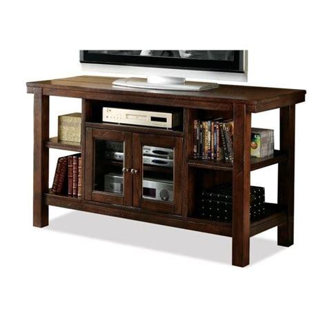 riverside furniture console table riverside furniture castlewood console table tv stand in