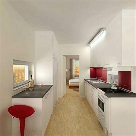 plan cuisine en parall鑞e aménagement cuisine petit espace conseils et astuces