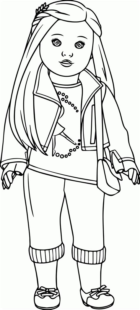barbie doll coloring pages  kids coloring home
