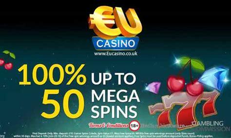 Eu Casino Bonus Claim 50 Mega Spins  Casino Bonus Checker