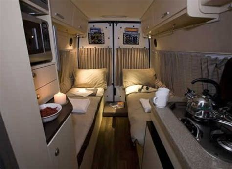 single beds van conversion great outdoors