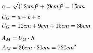 Volumen Aquarium Berechnen : prisma formeln volumen etc ~ Themetempest.com Abrechnung