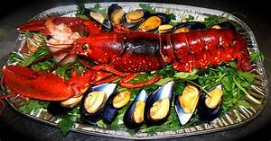 Image Gallery lobster and seafood plate