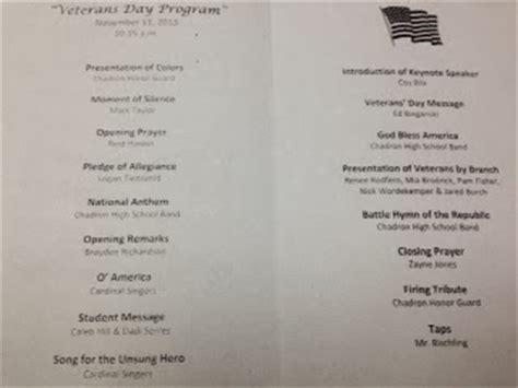 veterans day program cms principal s 2013 veteran s day program