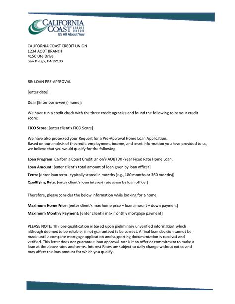 Pre Qualification Template by 21 Images Of Pre Qualified Auto Loan Letter Template