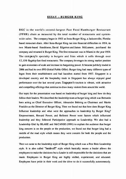 Essay Burger Personality King Istj Blackfriars Academia