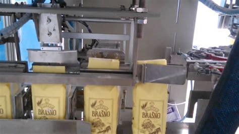 automatic paper bag filling cutting guling  sealing machine youtube