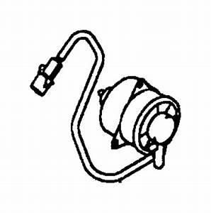 Chrysler Sebring Engine Cooling Fan Motor  Manual  Trans