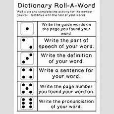 72 Best Images About Dictionary Skills On Pinterest  Words, Student And Activities