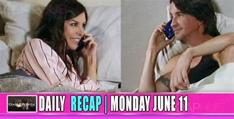 General Hospital Recap (gh) Anna And Finn Took It To The Next Level