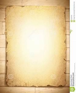 Vintage Grunge Burnt Paper At Wooden Background Stock ...