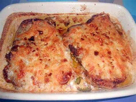 cuisiner les cotes de porc côtes de porc gratinées alla mozzarella