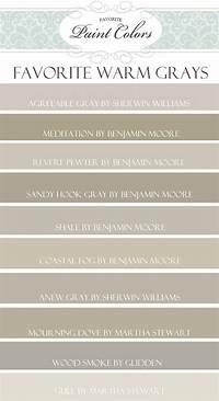 warm grey paint color Interior Paint Color and Color Palette Ideas with Pictures ...