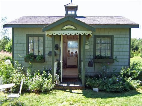 Cottage Garden Sheds  Potted Plants For All Seasons