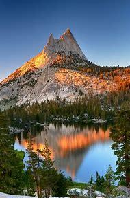 Cathedral Peak Yosemite National Park California
