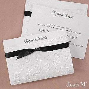 wrapped in love invitation a pearlized wrap goes around With wedding invitations wrapped in ribbon