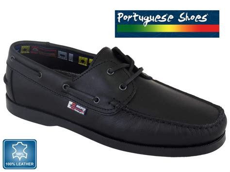 Best Value For Money Boat Shoes by Quality Beppi Boat Shoe In Black Free Delivery
