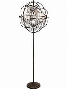 add glamor to your home with floor lamp chandelier With chandelier like floor lamp