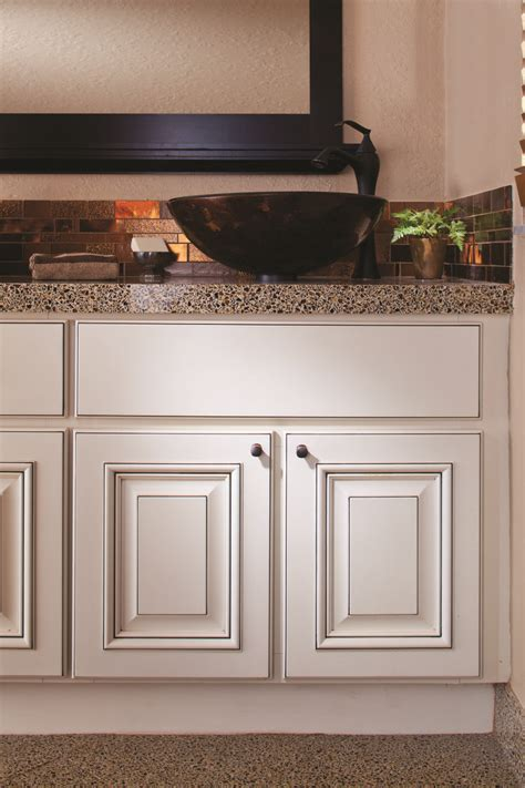 white bathroom cabinets countertop and backsplash by