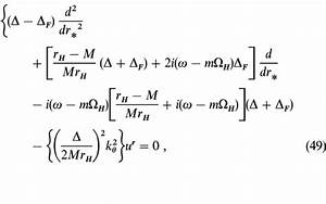 Astrophysics Equations for Black Holes (page 3) - Pics ...
