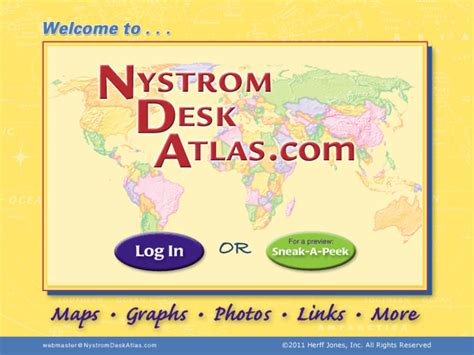 Nystrom Desk Atlas by Ndatlas Nystrom S Desk Atlas Website Expands The