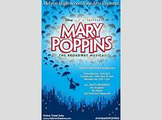 Mary Poppins Musical Hebron High School Theatre Booster Club