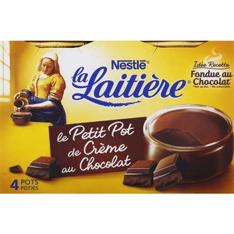 la laiti 232 re petit pot de cr 232 me saveur chocolat monoprix fr