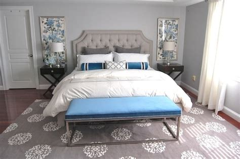 grey white and blue bedroom 20 beautiful blue and gray bedrooms digsdigs