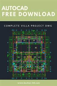 Complete Villa Project Dwg Free Download