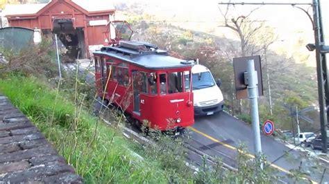 treno a cremagliera genova principe granarolo con ferrovia a cremagliera