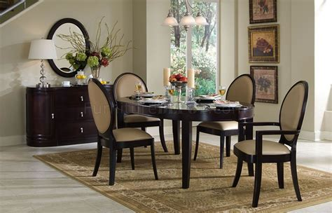cherry classic dining table w optional chairs