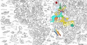 Carte Monde A Colorier Home Design & Architecture Infreshhome
