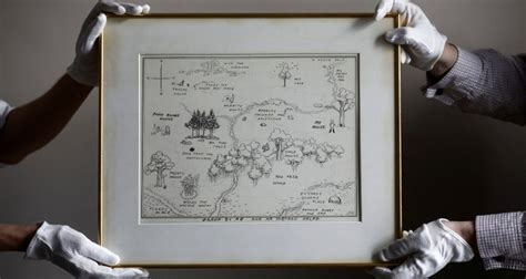 Original Winnie The Pooh Map Sells At Auction For Record