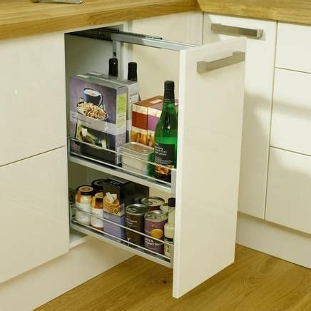 kitchen pull out storage units pull out base unit 300mm kitchen storage solutions 8401