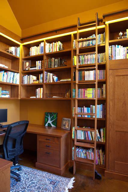 library contemporary home office edmonton