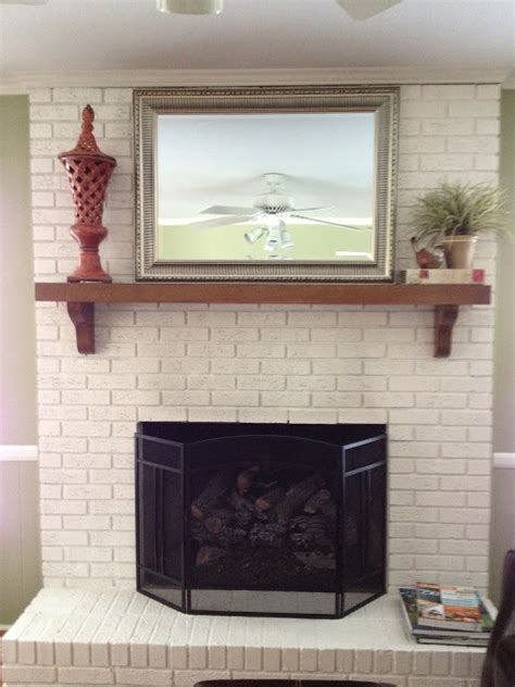 dramatic brick fireplace makeovers dave  kelly davis
