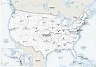 Free Printable Maps Of The United States   Printable Us ...