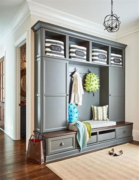 storage small kitchen charcoal gray mudroom lockers i like the idea of them 2571